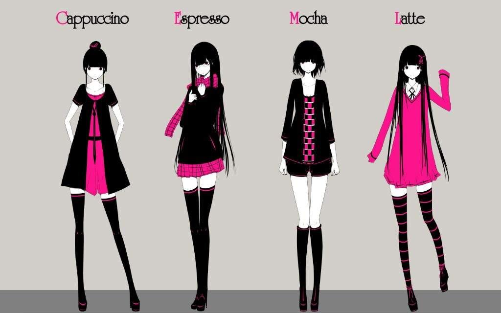 Super Hot Anime Girls Wallpaper Black Pink Cute Png Jojo Amino Amino