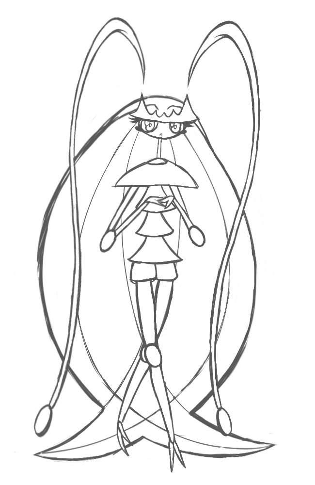 Pheromosa Drawing | Pokémon Amino