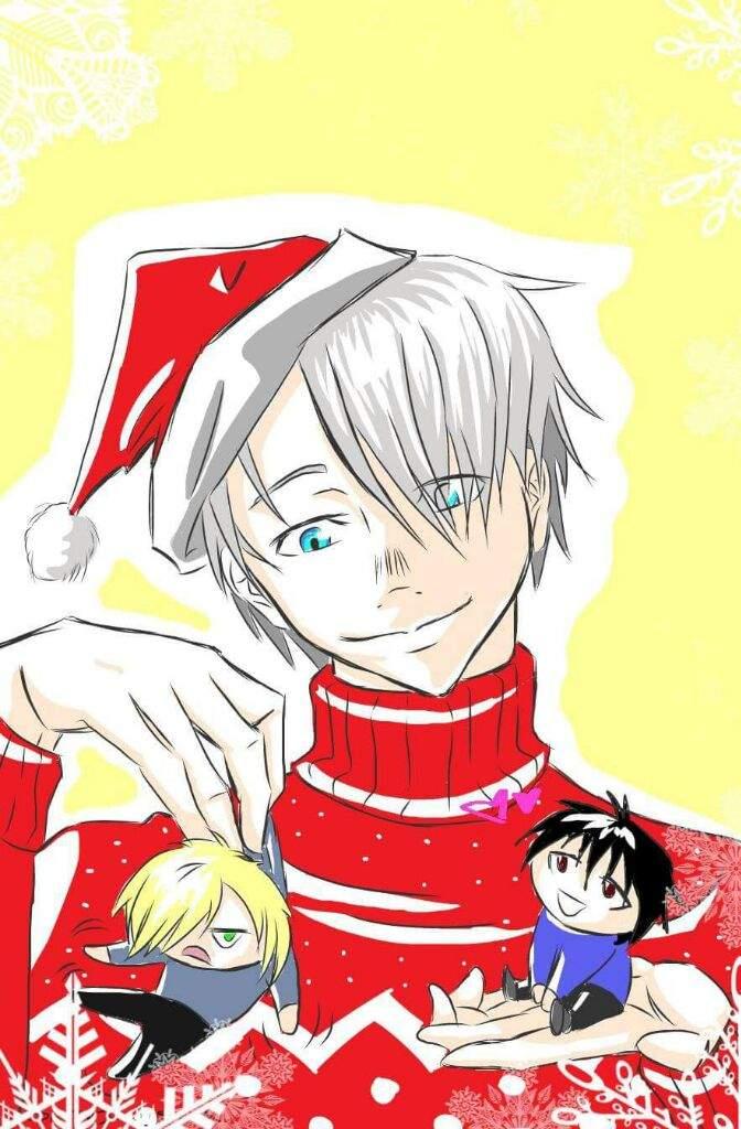 YOI Christmas! | Yuri On Ice Amino
