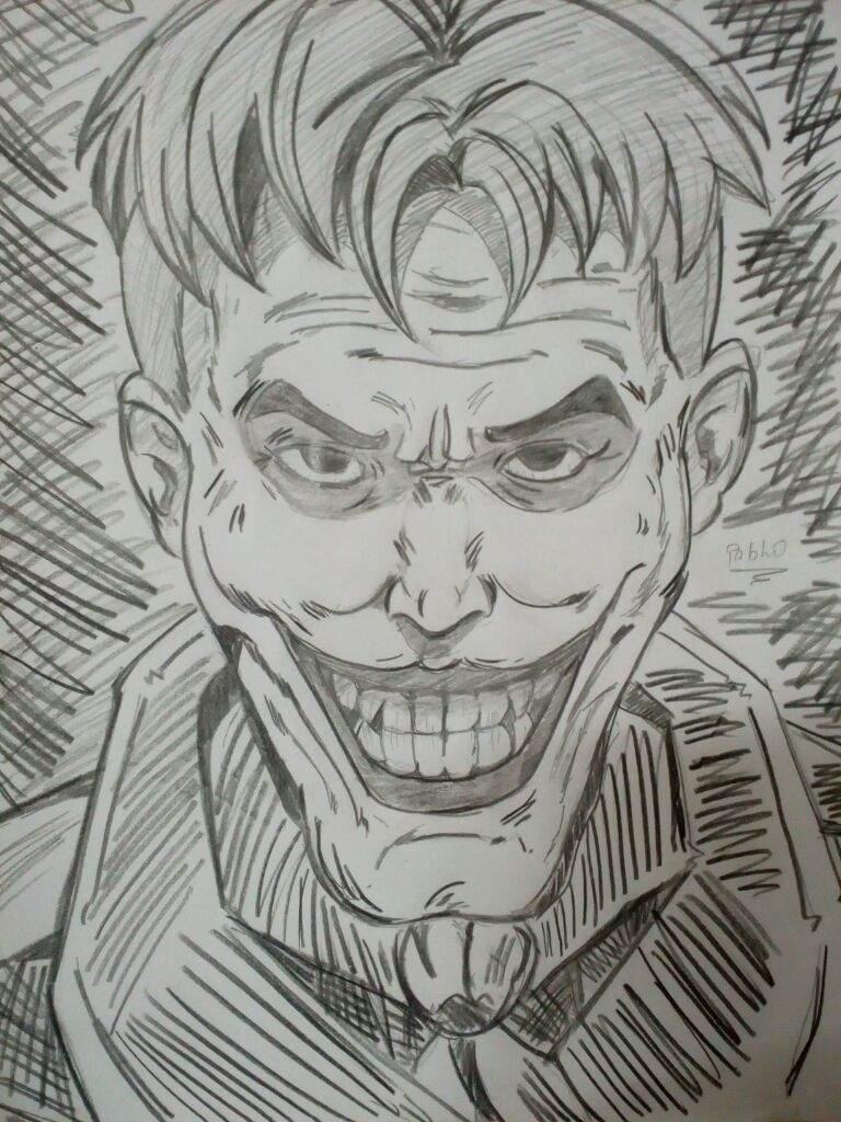 Mais Um Desenho Do Joker Ou Coringa Comics Portugues Amino