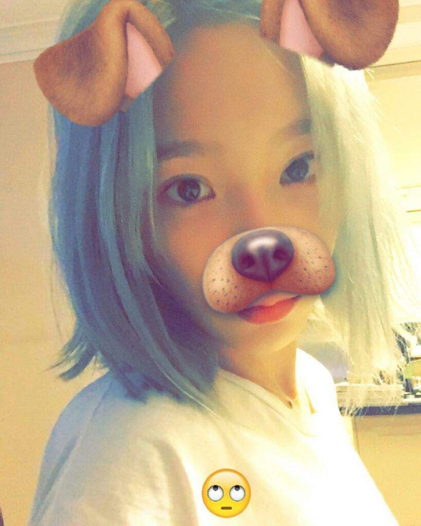 Taeyeon Snapchat/ Snow Filters | Girls' Generation (소녀 시대) Amino