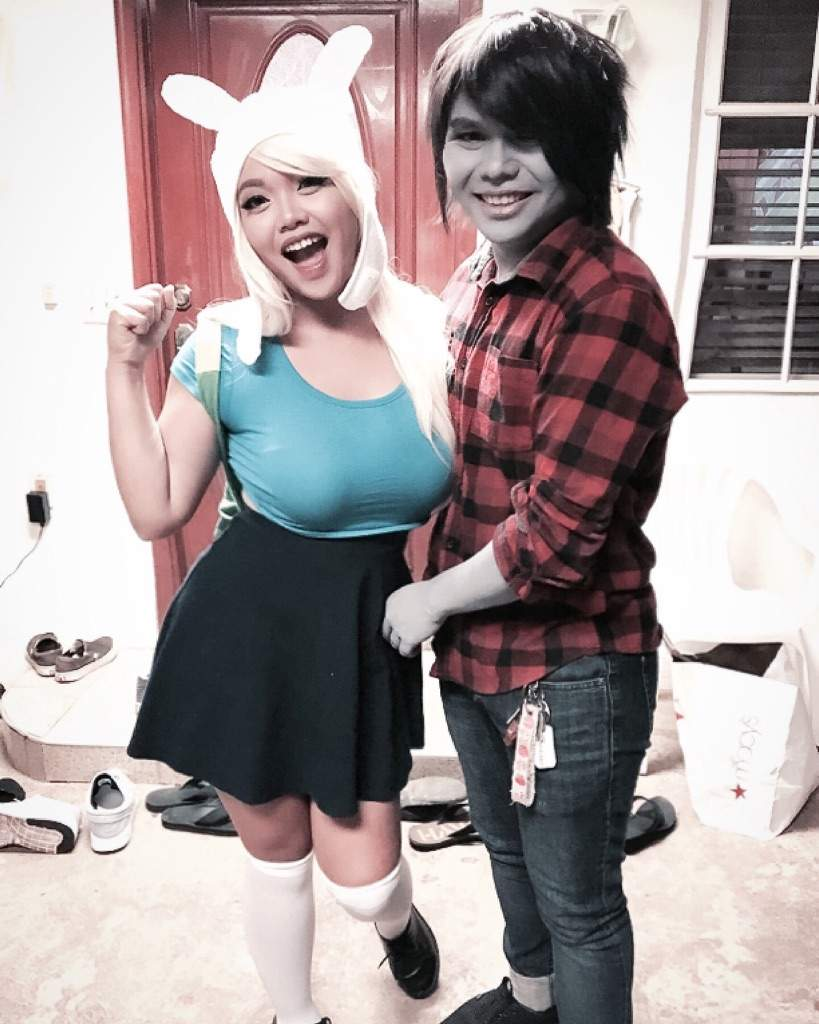 Fionna And Marshall Cosplay