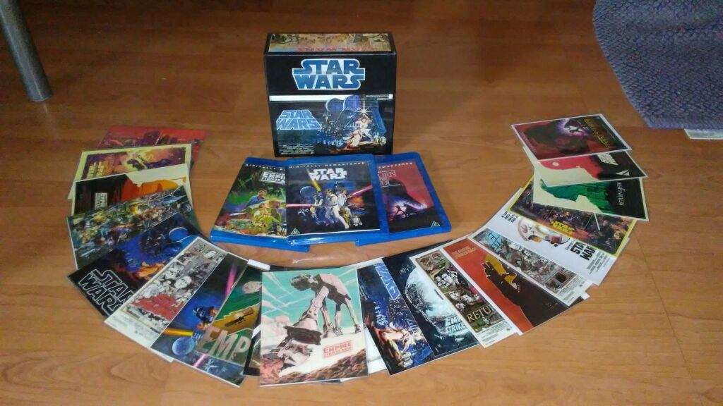 Star Wars Blu Ray Box Set Big W – Fondos de Pantalla