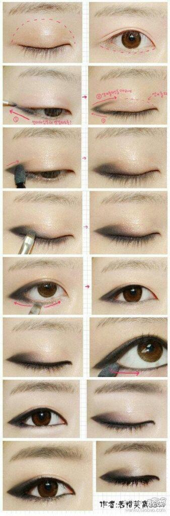 Tutorial De Maquiagem Coreana Kpop Amino