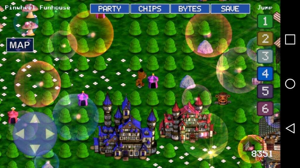 Fnaf World Guide Pinwheel Circus Maze Glitch World Five