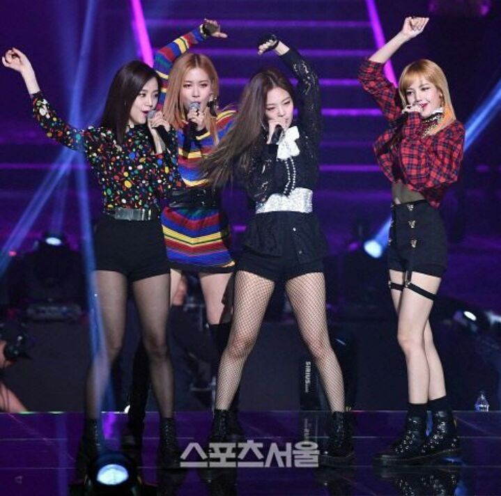 Blackpink Wallpaper 2016: BTS, Blackpink And Mobb On 26th Seoul Music Award