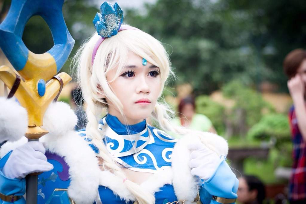 crystal maiden dota 2 cosplay amino