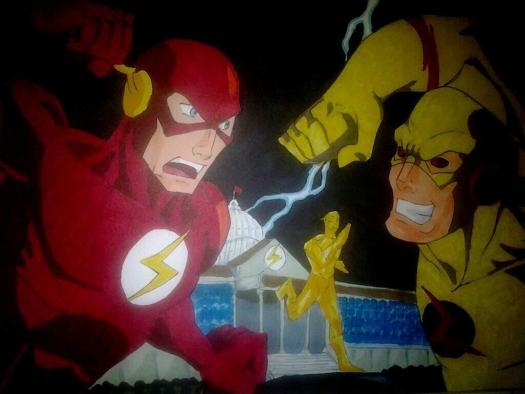 Meu Desenho Do Flash Dc Comics Amino