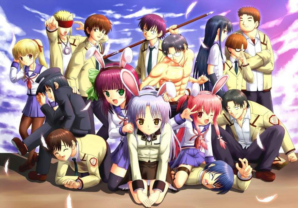 Wallpapers Angel Beats Anime Amino