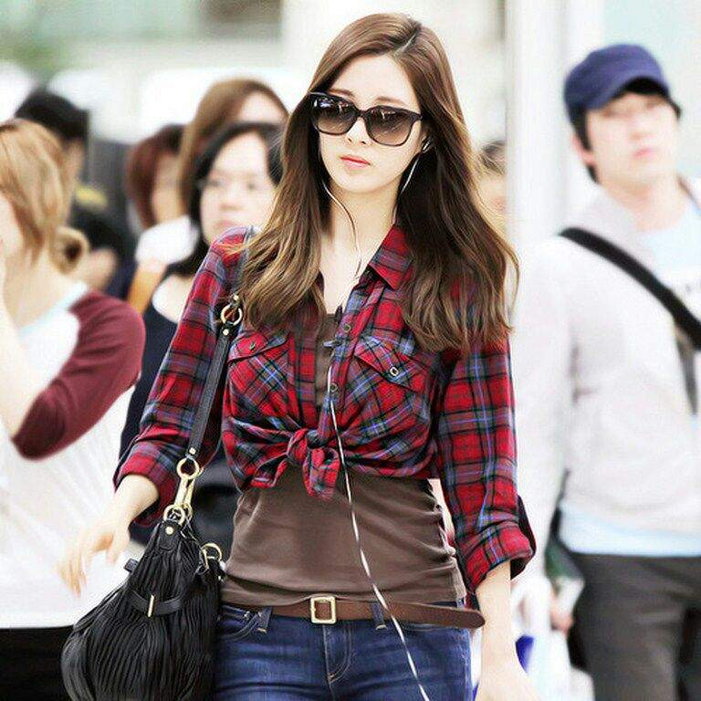 """My fav Seohyun's """"Airport Fashion"""" outfits 