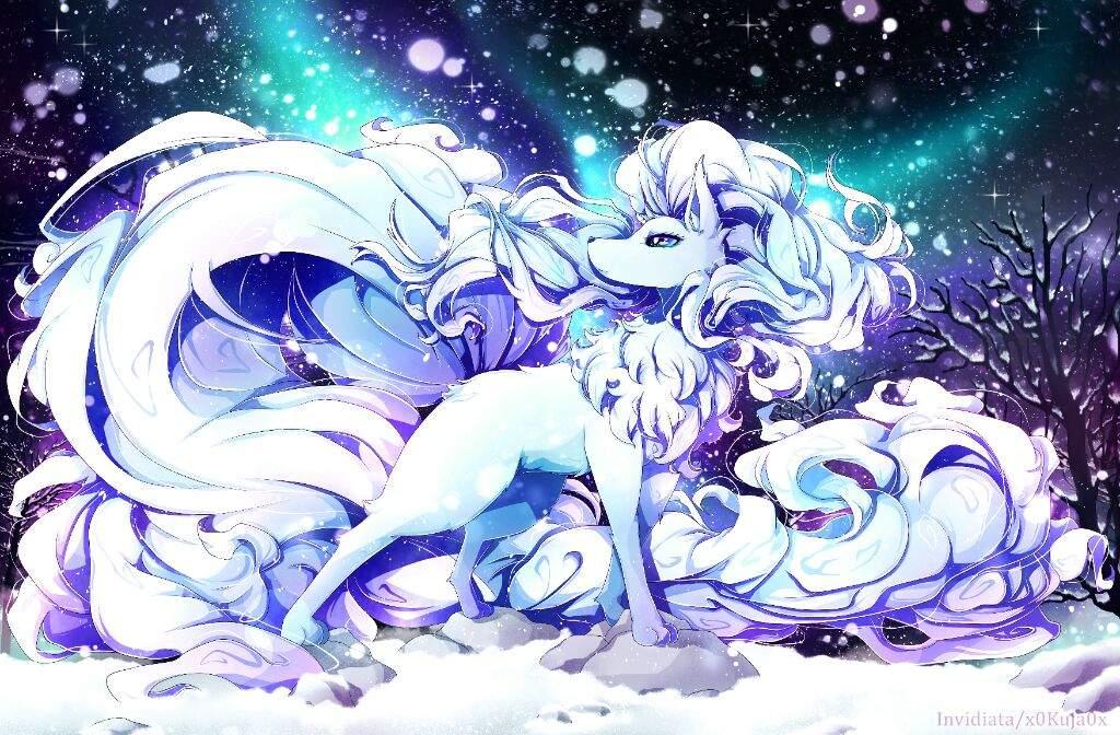 My Alola Ninetales Fanart Is Finally Finished Pok 233 Mon Amino