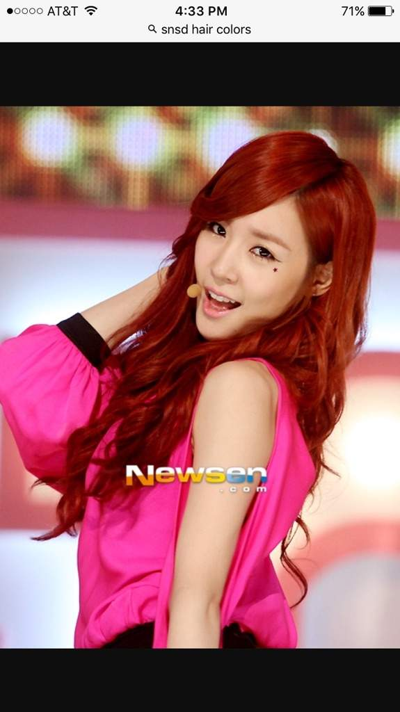Which Is Your Favorite Snsd Hair Color Girls Generation