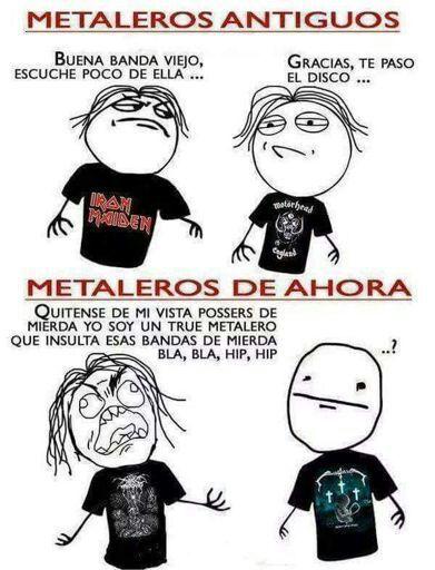 Memes Metaleros Metal Amino