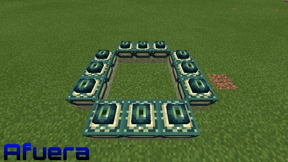 como hacer portales en minecraft pe android