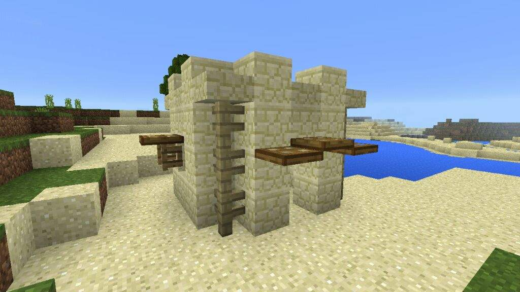Mini Sandstone House Minecraft Amino