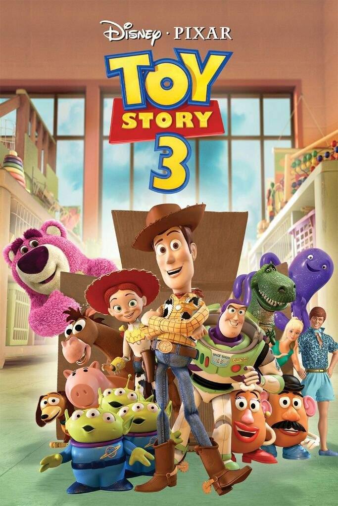 Toy Story 3 es la tercera película de la saga de animación Toy Story. 6736b05e1e4