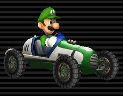 Luigi Was Attracted To The Long Kart
