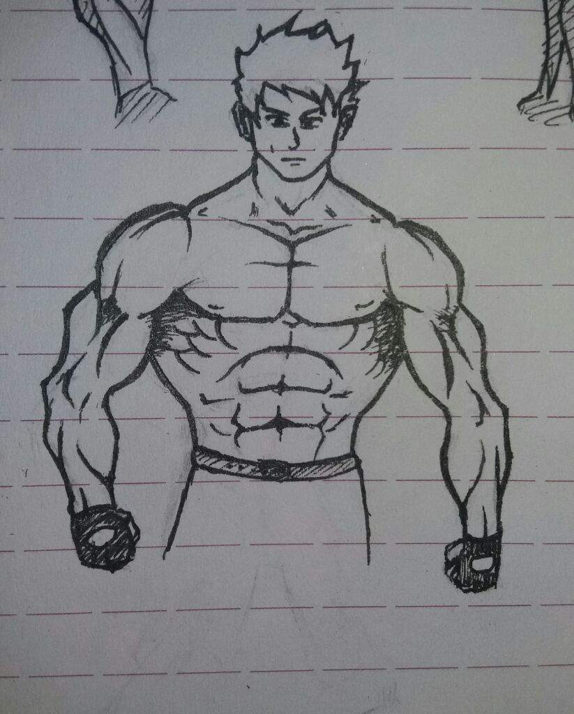 What to draw a guy