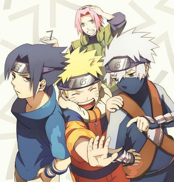 Naruto Sasuke Sakura Kakashi Anime Amino