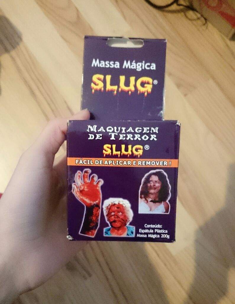 Testing The Slug Modeling Compound Special Effects Makeup Amino
