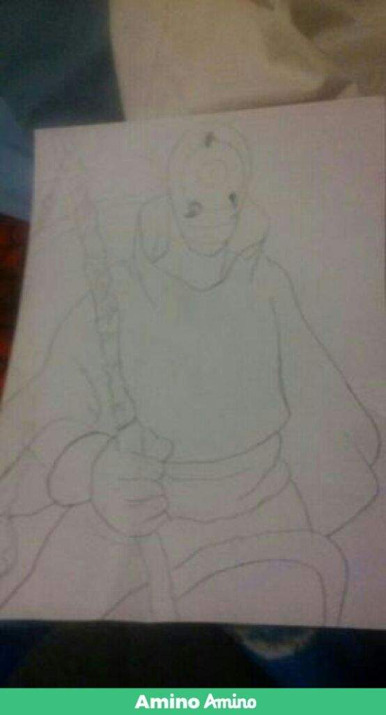 This Is My Sketch Of Obito Konoha Amino