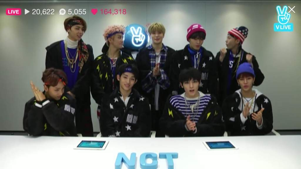 170121] Summary Vlive Global Top 10   NCT (엔시티) Amino
