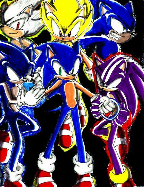 Goku vs sonic  Anime Amino