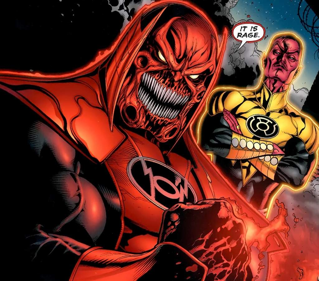 Members of the red lanterns! | Comics Amino