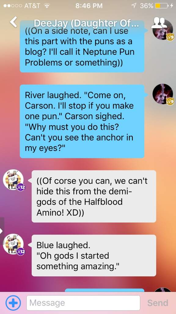 Neptune Pun Problems | Halfblood Amino