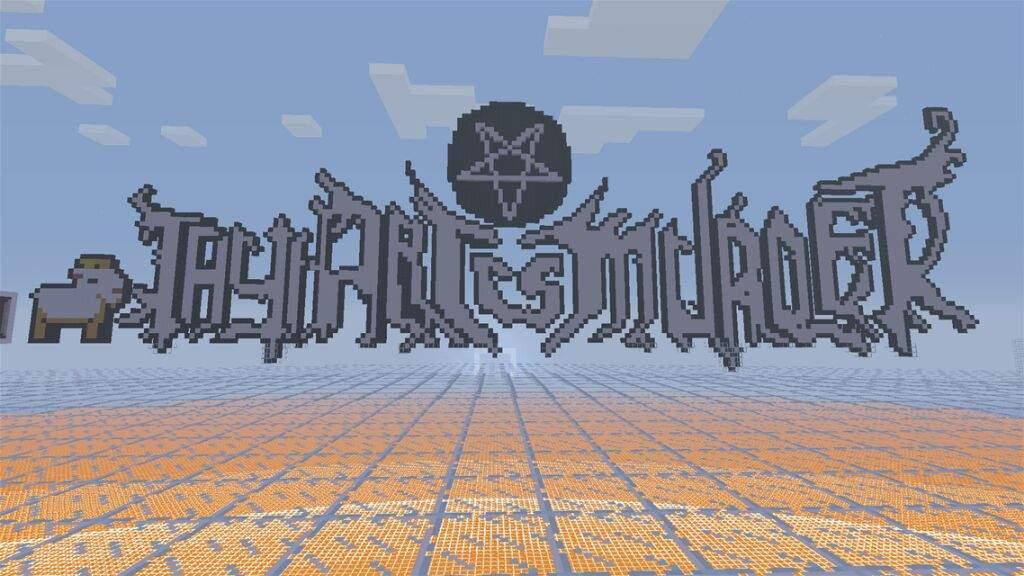 Band Pixel Art Symbols Metal Amino