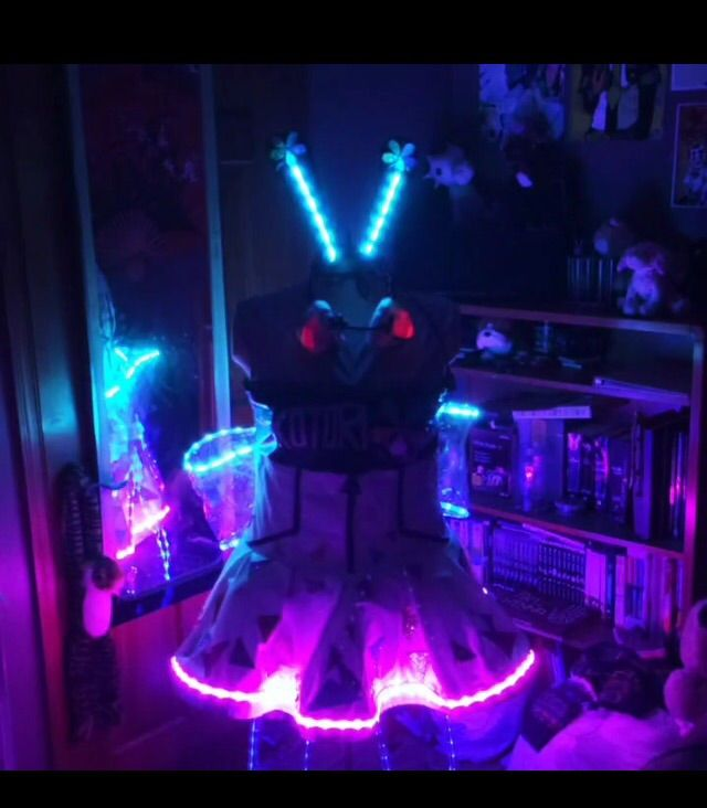 Cyber Kotori Led Lights Cosplay Amino