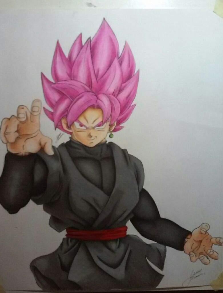 Dibujando A Goku Black Ssj Rose Arte Amino Amino
