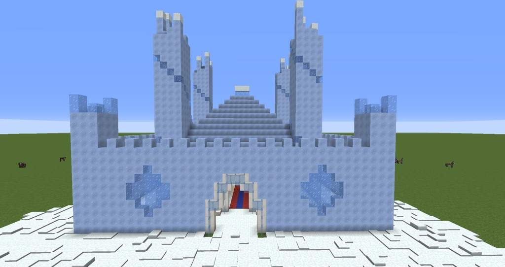Ice Castle Entry Minecraft Amino I do have more colours based off this pack. ice castle entry minecraft amino