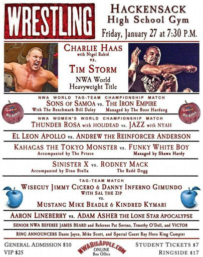 nwaWrestling | Wrestling Amino