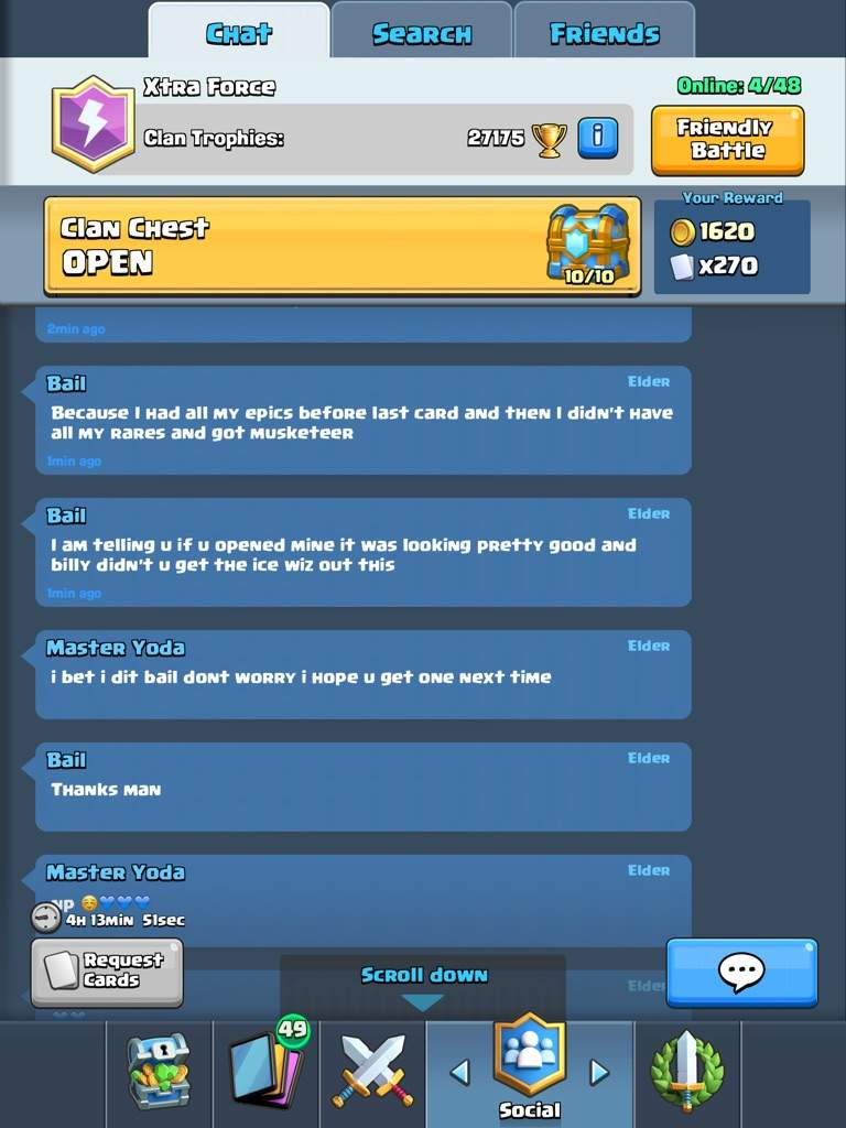 clan chest update