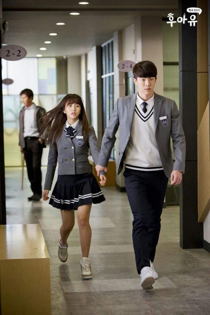 Nam Jo Hyuk ketika berperan sebagai Han Yi An dalam drama 'School 2015 : Who Are You'