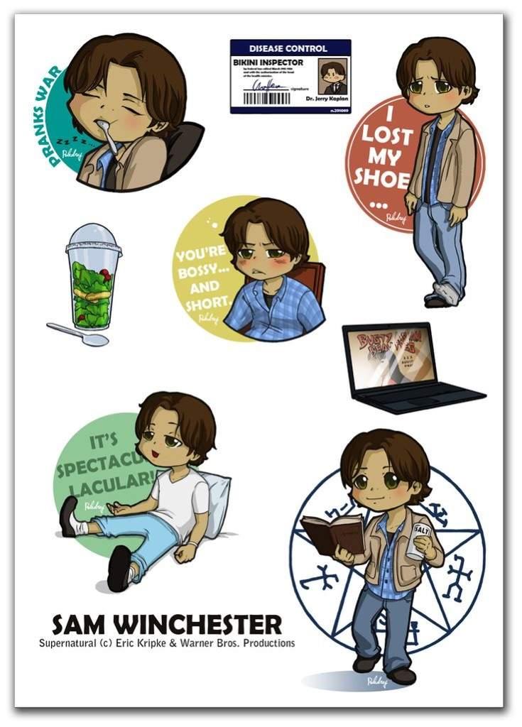 Castiel Dean And Sam Supernatural Amino