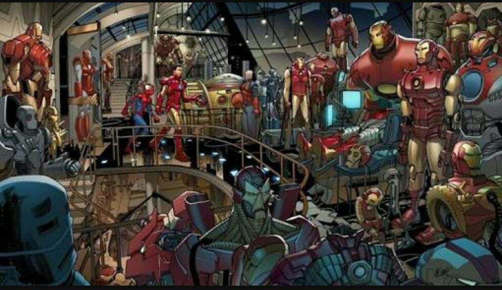 Iron Man Ultimate Wiki Cómics Amino