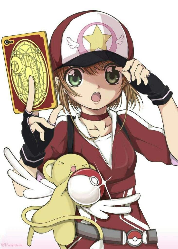 Resultado de imagen para sakura card captors pikachu