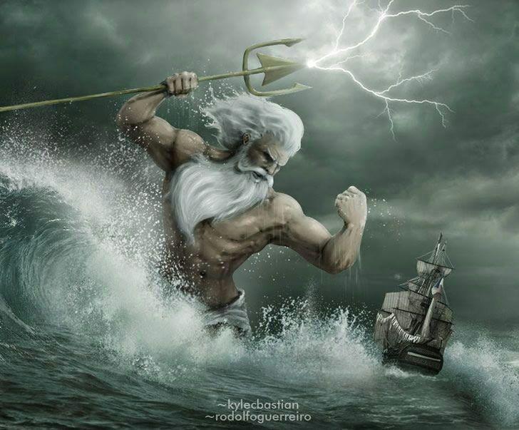 Poseidn el dios del mar  Mundo Secreto Amino