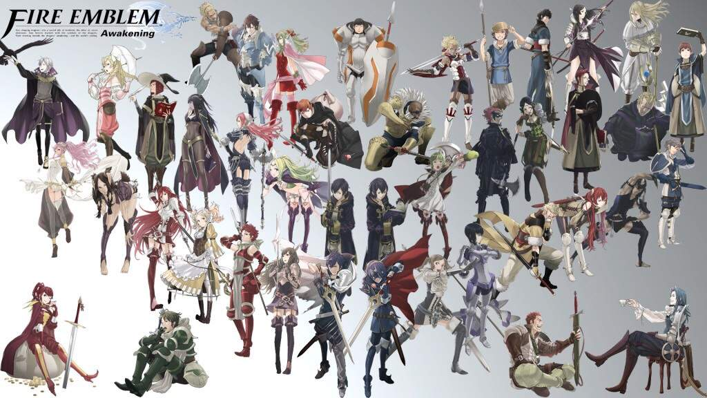 Image result for all the characters from fire emblem