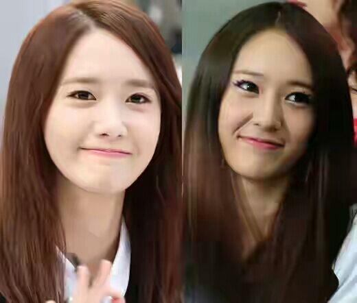 SNSD look alike idols & actresses | K-Pop Amino Krystal Jung And Yoona Look Alike