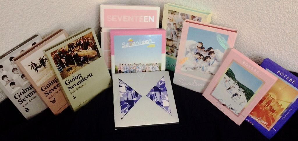 Seventeen Album Collection | K-Pop Amino
