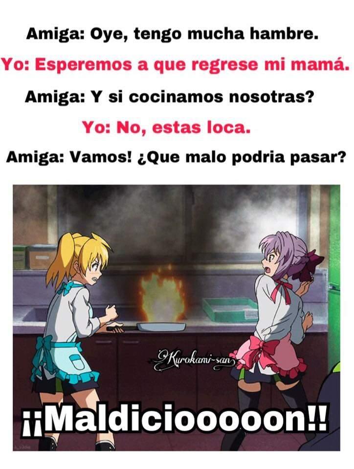 Yo Intentando Cocinar Anime Amino
