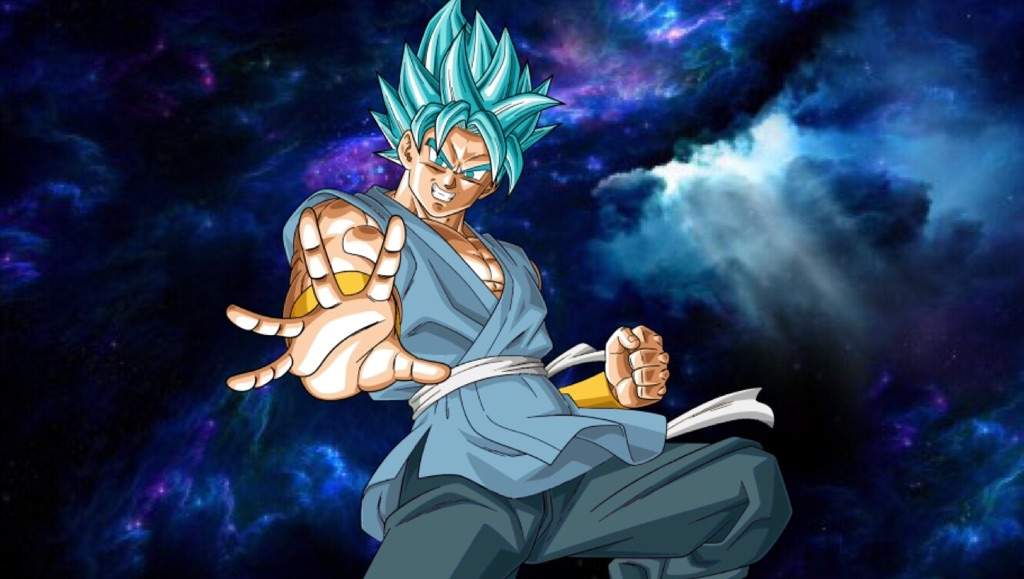 Super Saiyan Blue Goku End Of Z Gi Wallpaper