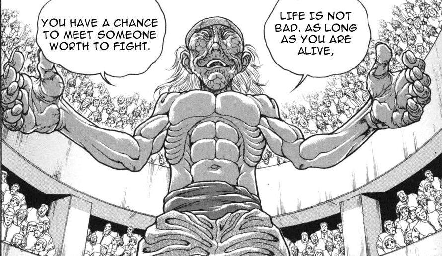 Grappler Baki's Strongest Ten | Anime Amino