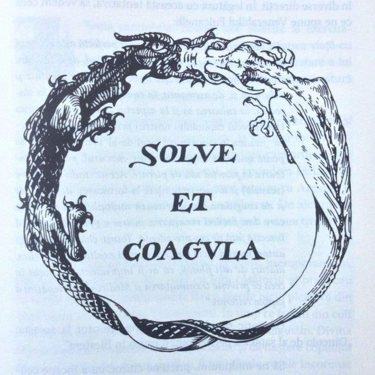 Resultado de imagen de solve et coagula