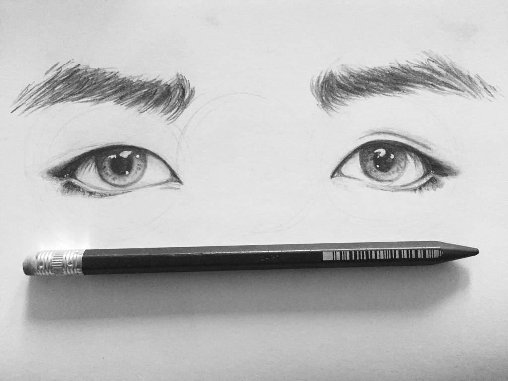 fa sketch of taehyung s eyes army s amino