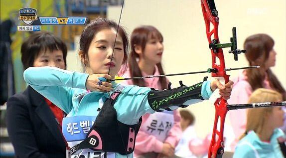 Red Velvet at ISAC (Archery) | Red Velvet Amino