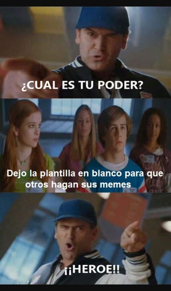 :'u heroe :'u - Meme by Maxmix132 :) Memedroid